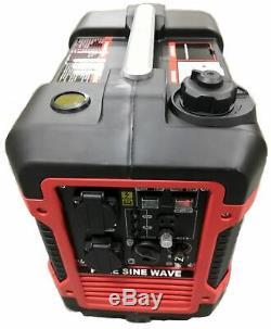 Petrol Inverter Generator 2.0KW 2000W Portable Camping Quiet / Silent Power 230v