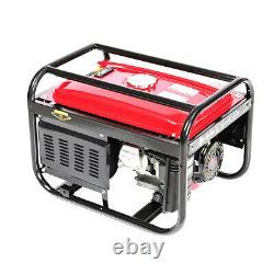 Portable Generator Petrol 3000W 3KW Silent Plug 7HP Engine Camping Power 4.0KVA