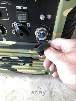 Portable Inverter Petrol Suitcase Generator W5500i 3.8KVA / 3.0KW Camping