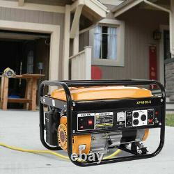 Portable Petrol Generator 4000 Bohmer Electric 5HP 3.5KVA Quiet Camping Power