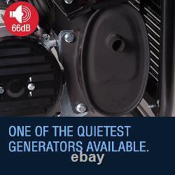 Portable Petrol Generator 6500w Bohmer Electric 8HP 3.4KVA Quiet Camping Power