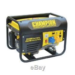 Portable Petrol Generator Champion CPG3500 2.8kVA 4 Stroke