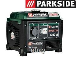 Portable Petrol Inverter Generator 1200W Max 4 Stroke Compact Generator Camping