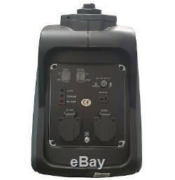 Portable Suitcase Inverter Petrol Generator 4 Stroke 6.5HP 2000W 12V 240V