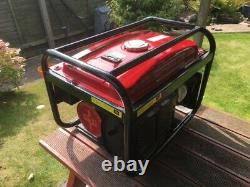 Portable electric generator 6.5 Kw. Petrol. Never been started. 5 Power outlets