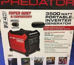 Predator 3500 Inverter Generator Super Quiet On Hand SHIPS TO PUERTO RICO