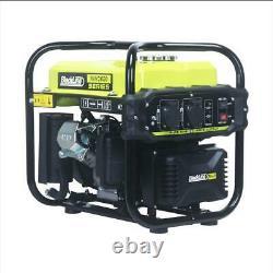 Quiet Inverter Petrol Generator 2KW Portable Camping Caravan RV Blackline 3600