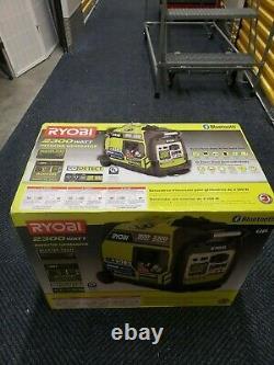 Ryobi 2300 watts Bluetooth Gasoline Powered Digital Inverter Generator