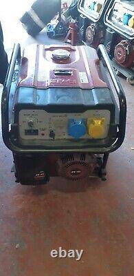 SENCI SC9000E-11 Generator Electric Key Start & Pull Start Petrol Used
