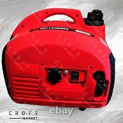 SUPER SILENT SUITECASE Mobil Genset SKT 2000W Petrol Inverter Generator NEW