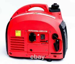 SUPER SILENT SUITECASE Mobil Genset WM 2000W Petrol Inverter Generator