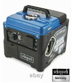 Scheppach Inverter Generator, Portable Camping 4 stroke Power SG1400i NEW