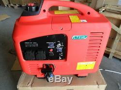 Silent Petrol Generator 2.2 Kw Electric / Remote Start 2 Year Uk Warranty
