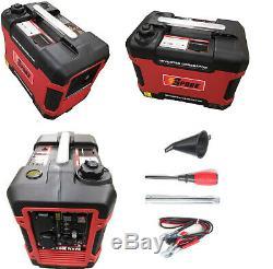 Silent suitcase Inverter Petrol Generator 2000W Portable Camping 4 stroke Power