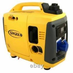 Spark IG1000 Pure sinewave petrol generator. From Kipor UK & Free fly lead