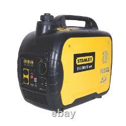 Stanley Silent Inverter Petrol Generator SIG2000 3.5L 2000W 240V 4 Hours Run