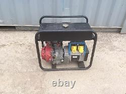 Stephill 3400hm 3.4 Kva 110 Volt Site Safe Generator 2012 Model Honda Gx200