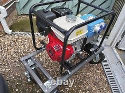 Stephill Honda GX390 Petrol Generator. Plus Trolley