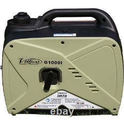 Villiers G1000i 1Kva Inverter Generator camping lighting
