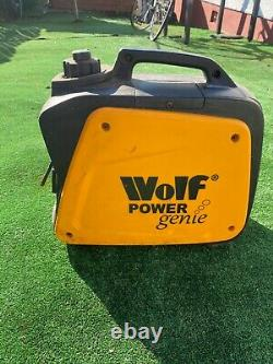Wolf 800w 2.6hp 4 Stroke Petrol Inverter Suitcase Portable Generator 240v 222