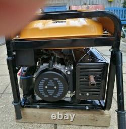 Wolf WP7500E Electric Start Portable 4 Stroke 7000W 15HP Petrol Generator