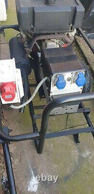 10kva 3 Phase Et Générateur De 240 Volts V Twin 16hp