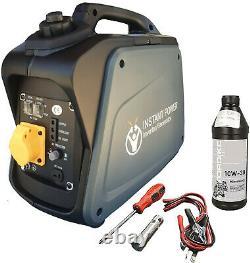 110v Portable Valise Onduleur Essence Générateur 4 Stroke 4hp 1200w