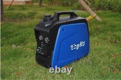 800w Ensemble De Générateur D'onduleur D'alimentation D'essence De Camping Portable Silencieux 220v