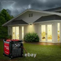 9500 Watt 67 Decibal Inverter Generator 120/240 Elect Start Us/canada/ak/hi/pr