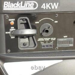 Blackline Power 5600r 4kw Onduleur Générateur D'essence Recul Démarrer Calme 53db