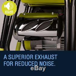 Böhmer-ag Démarrage Électrique À Clé Générateur 3.8 Kva 3000w Portable Essence 4 Stoke
