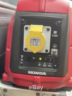 Calme Honda Près Silencieux Eu10i Inverter Valise Générateur Utilisé Uniquement Pour 15mins