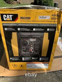 Cat Inv2000 Générateur D'onduleur Portatif Alimenté Au Gaz 1800w