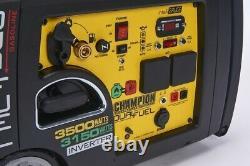 Champion 73001i-df 3400w Dual Carburant Gpl Générateur D'onduleur D'essence Start Électrique