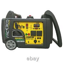 Champion 73001i-df 3500 Watt Dual Fuel Generator Uk 2 X 240v 3 Pin Uk Spec New