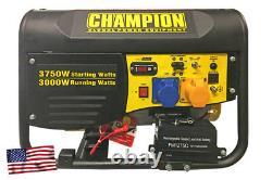 Champion Cpg4000e1 Générateur D'essence De 3500 Watts