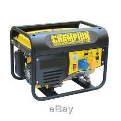 Champion Générateur Essence Portable Cpg4000e1 3.75kva Avec Démarrage Électrique
