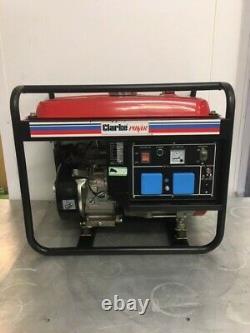Clarke Fg3005 2.8kva Générateur Alimenté À Essence Portable