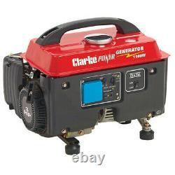 Clarke G1200 Générateur D'essence 4 Coups 1100w Courant Silencieux Air Refroidi 4 Coups
