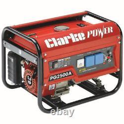 Clarke Pg2500a Euro5 2.2kva 230v Générateur D'essence