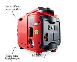 Compact 2000w Valise Inverteur Essence Générateur Silencieux 2.86hp