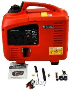 Digital Petrol Generator Silent Suitcase 2.2kva Démarrage Électrique Démarrage À Distance 1