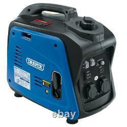 Draper 2kva / 1.6kw Petit Générateur Compact D'onduleur D'essence 80956