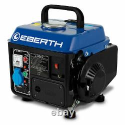 Eberth 2 HP 1.47kw Générateur Essence 750w Essence Portable 2 De Moteur De Course 63 C