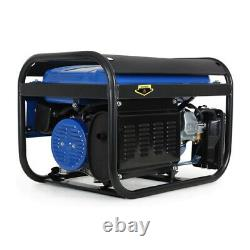 Eberth 6.5hp Générateur De 4.8kw Essence Portable Moteur 4 Temps Avr 3000w