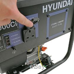 Essence Converter Générateur De 3.6kva 3kw 3000w Portable Catering Lumière Hyundai
