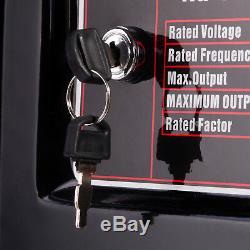 Essence Générateur Électrique 8000w 9.5kva Clé De Démarrage Portable Alimentation 13hp Bohmer