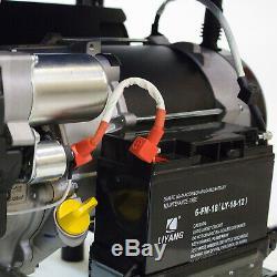 Essence Générateur Portable Démarreur Électrique 5.5kw 6.8kva 4 Temps 13hp Hyundai