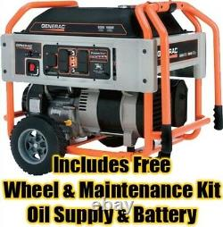 Gaz Générateur Portable 10000 Watts 9 Gal 410cc Ohvi Moteur Électrique De Démarrage