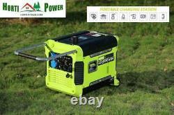 Générateur 3000w 3kw Inverter Portable Petrol Power 3000w Pure Sine Electric Pro